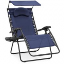 Deals List: Oversized Zero Gravity Chair w/ Folding Canopy Shade Cup Holder