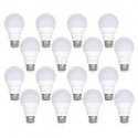 Deals List: Honeywell 800 Lumen A19 LED Light Bulb, 8.5W (60W Equivalent), Warm White (16 Pk.)