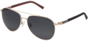 Deals List: Converse Polarized Aviator W/Rubberized Temples Sunglasses