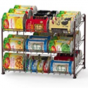 Deals List: Simple Houseware Stackable Can Rack Organizer CO-001-2