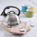 Deals List: Mr. Coffee Flintshire Stainless Steel Whistling Tea Kettle, 1.75-Quart, Brushed Satin