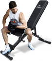Deals List: FLYBIRD Weight Bench, Adjustable Strength Training Bench for Full Body Workout with Fast Folding- 2020 Version