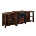 Deals List: Walker Edison 70-in Tiered Top Open Shelf Fireplace TV Console