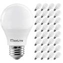 Deals List: 32-Pk MaxLite A19 LED Bulb Enclosed Fixture Rated 60W Equivalent