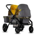 Deals List: Evenflo Pivot Xplore Double Stroller Wagon, All-Terrain, Adventurer Gray