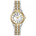 Deals List: Citizen Watches EW1544-53A Eco-Drive Silhouette Sport Two-Tone Watch