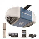Deals List: Chamberlain Group Chamberlain B970 Smartphone-Controlled Ultra-Quiet and Strong Belt Drive Garage Door Opener with Battery Backup and MAX Lifting Power, Blue
