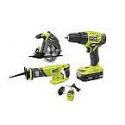 Deals List: RYOBI ONE+ 18V Cordless 3-Tool Combo Kit with (1) 1.5 Ah Battery, Charger, Bag