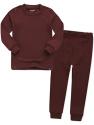 Deals List: VAENAIT BABY 12M-7T Kids Little Boys Girls Unisex Toddler Colorful Stripe/Simple Sleepwear Pajama 2pcs Set