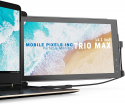 Deals List: Mobile Pixels Trio Max Portable Monitor for Laptops, 14'' Full HD IPS Screen, USB C/USB A Dual or Triple Displays,Windows/OS/Android/Nintendo Switch