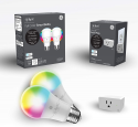 Deals List: C by GE Smart LED Bulbs + Smart Plug Bundle (2 LED A19 Soft White Light Bulbs + On/Off Smart Plug that Works with Alexa), Google Home and Alexa, Light Bulbs, Bluetooth Light Bulbs