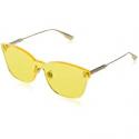 Deals List: DIORColor Quake Yellow Shield Ladies Sunglasses