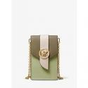 Deals List: Michael Kors Small Tri-Color Saffiano Leather Crossbody Bag