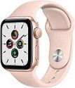 Deals List: Apple Watch SE (GPS, 40mm) - Gold Aluminum Case with Pink Sand Sport Band