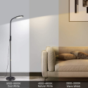Deals List: Miroco LED Floor Lamp with 5 Brightness Levels & 3 Color Temperatures, 1815 Lumens, Adjustable LED Floor Light, Dimmable Reading Standing Lamp for Sewing Living Room Bedroom Office