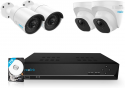 Deals List: Reolink H.265 4K PoE Security Camera System, 6pcs 8MP Wired PoE IP Cameras, 8CH NVR Recorder with 2TB HDD, Home Business Surveillance Kit for Outdoors/Indoors, 100ft Night Vision, RLK8-800B6