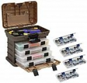 Deals List: Plano Molding 135430 Stow N' Go Pro Rack with 4 #23500s Prolatch Organizers
