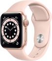 Deals List: Apple Watch Series 6 (GPS, 40mm) - Gold Aluminum Case with Pink Sand Sport Band