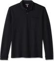 Deals List: Express Mens Herringbone Long Sleeve Polo