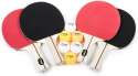 Deals List: Zume Games Portable Badminton Set with Freestanding Base - Sets Up on Any Surface in Seconds - No Tools or Stakes Required