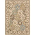 """Deals List: Nourison Modesto Beige Rectangle Area Rug, 5-Feet 3-Inches by 7-Feet 3-Inches (5'3"""" x 7'3"""")"""