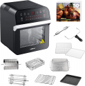 Deals List: GoWISE USA GW44800-O Deluxe 12.7-Quarts 15-in-1 Electric Air Fryer Oven w/Rotisserie and Dehydrator + 50 Recipes