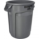 Deals List: Rubbermaid Commercial Products Brute Heavy-Duty Trash/Garbage Can, 32 Gallon, Gray