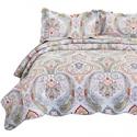Deals List: Bedsure 100% Cotton Printed Quilt Set