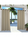Deals List: Exclusive Home Curtains Catarina Layered Solid Blackout and Sheer Window Curtain Panel Pair with Grommet Top, 52x84, Rose Blush, 2 Count