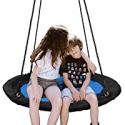 Deals List: SUPER DEAL 40-in Saucer Tree Swing Set w/71-in Hanging Ropes