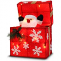 Deals List: Later M 01 12-in Gift Box Automatically Open, Santa 18 LED Lights