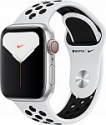 Deals List: Apple Watch Nike Series 5 (GPS + Cellular) 40mm Silver Aluminum Case