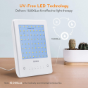 Deals List: Light Therapy Lamp, Miroco UV Free 10000 Lux Brightness, Timer Function, Touch Control, Standing Bracket, for Home/Office Use