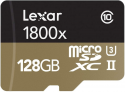 Deals List: Lexar Professional 1800x 128GB MicroSDXC UHS-II Card (LSDMI128CBNA1800A)