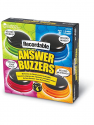 Deals List: Learning Resources Recordable Answer Buzzers, Personalized Sound Buzzers, Talking Button, Set of 4, Ages 3+