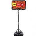 Deals List: MaxKare Basketball Hoop Goal Portable Set Adjustable Height