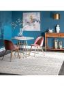 "Deals List: nuLOOM Moroccan Blythe Area Rug, 5' x 7' 5"", Grey/Off-white"