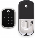 Deals List: Yale Assure Lock SL with Z-Wave - Smart Key Free Touchscreen Deadbolt -Works with Ring Alarm, Samsung SmartThings, Wink and More (Hub required, sold separately) - Satin Nickel