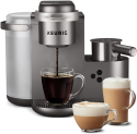 Deals List: Keurig K-Cafe Special Edition Single Serve K-Cup Pod Coffee, Latte and Cappuccino Maker, Comes with Dishwasher Safe Milk Frother, Shot Capability, Nickel