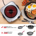 Deals List: Sunavo Electric Infrared Burner, 1200W Ceramic Glass Hot Plate