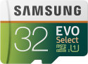 Deals List: Samsung 32GB 95MB/s (U1) MicroSD EVO Select Memory Card with Adapter (MB-ME32GA/AM)