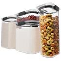 Deals List: Rubbermaid Brilliance Pantry Organization & Food Storage Set of 4
