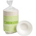 Deals List: 125-Pack Perk Compostable Paper Bowls 12 Oz White