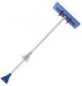 Deals List: Snow Joe SJBLZD 2-in-1 Snow Broom with 18-Inch Foam Head + Large Ice Scraper, Blue