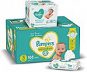 Deals List: ampers Diapers Size 3, 168 Count and Baby Wipes Sensitive Pop-Top Packs, 336 Count