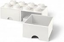 Deals List: LEGO Brick Drawer, 8 Knobs, 2 Drawers, Stackable Storage Box