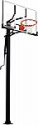 """Deals List: Silverback 54"""" In-Ground Basketball Hoop with Adjustable-Height Tempered Glass Backboard and Pro-Style Breakaway Rim"""