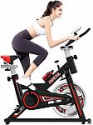 Deals List: HAPICHIL Stationary Exercise Bike with Pulse W/LCD Display