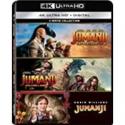 Deals List: Jumanji (1995) / Jumanji: The Next Level / Jumanji: Welcome to the Jungle - Set [Blu-ray]