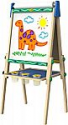 Deals List: Crayola Kids Wooden Easel, Dry Erase Board & Chalkboard, Amazon Exclusive, Kids Toys, Age 4+